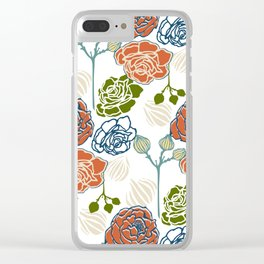 Gardenia Light Clear iPhone Case