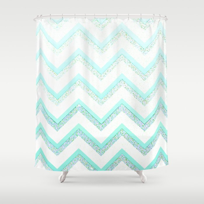 NUDE MINT  Shower Curtain