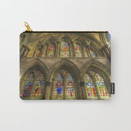 Rochester Cathedral Stained Glass Windows Art Carry-All Pouch