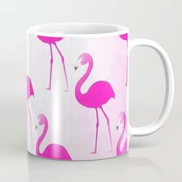 Seamless Flamingo Coffee Mug