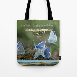 Tao butterfly Tote Bag