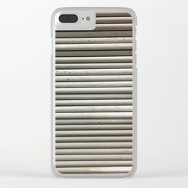 Sheets, Fashion Textures Clear iPhone Case