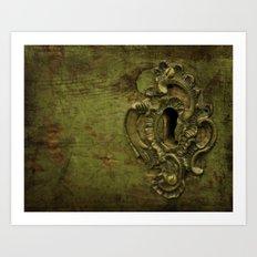 Keyhole Art Print