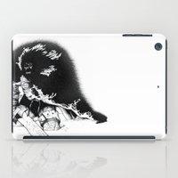 conan iPad Cases featuring old ass conan by RandomRobot