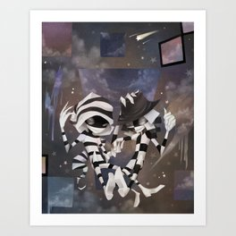 Illusion Prankster Art Print