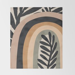 Abstract Art Rainbow 2 Throw Blanket