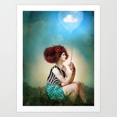 Keeping Good Memories Art Print