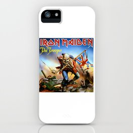 IRON MAIDEN - THE TROOPER iPhone Case