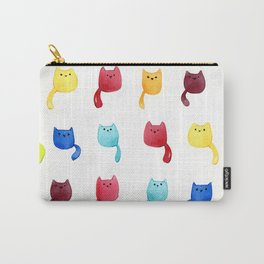 Colourful Cats Carry-All Pouch