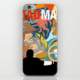 Max The Mad Man iPhone Skin