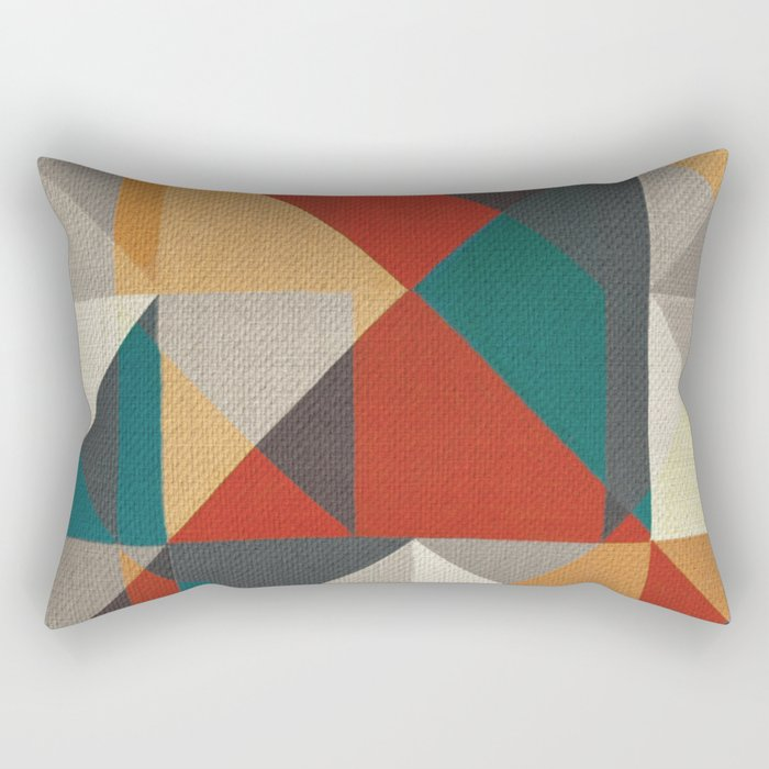 Trigonale 6 Rectangular Pillow