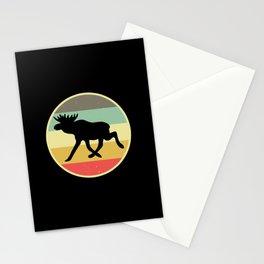 Moose Scandinavia Vintage Retro Norway & Sweden Stationery Cards