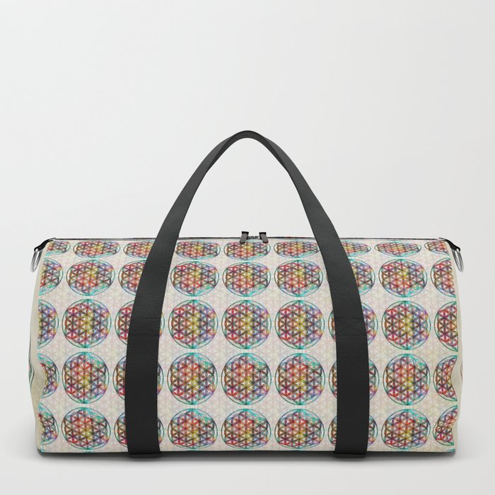 Flower of Life Duffle Bag