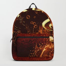 Decorative clef Backpack