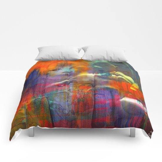 Abstrait 4 Comforters