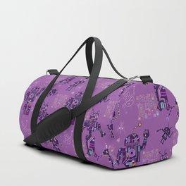 Robots pink Duffle Bag