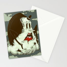 Creep Cloud Face Melt Stationery Cards