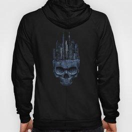 Gothic Skull City Hoody