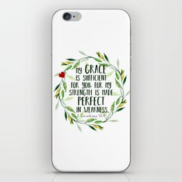 Perfect Grace iPhone Skin