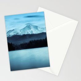Mount Shasta Morning Stationery Cards