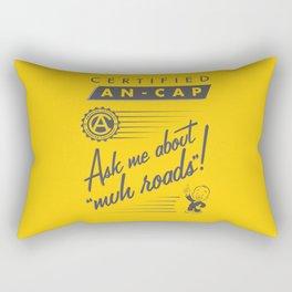 Certified Anarcho-Capitalist Rectangular Pillow