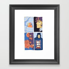 in the pocket Framed Art Print