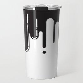 Melting black stuff Travel Mug