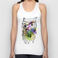 alone Tank Tops featuring Alone by Organic Mind