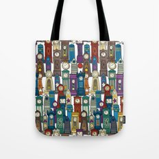 time and space white Tote Bag