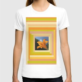 Orange Daylily original photo, digitally edited T-shirt