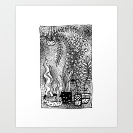 Moving Nature Art Print