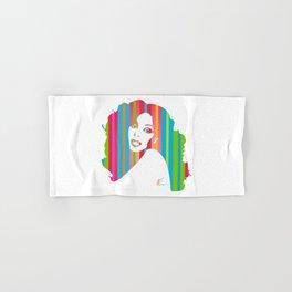 Donna Summer | Pop Art Hand & Bath Towel