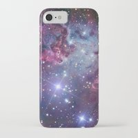 galaxy iPhone & iPod Cases featuring Nebula Galaxy by RexLambo