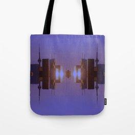 Skyline Symmetry in Toronto, Ontario  Tote Bag