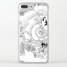 Shells of the Time Clear iPhone Case