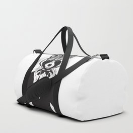 Fancy Raccoon Duffle Bag