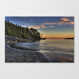 Sunset of Seclusion Canvas Print