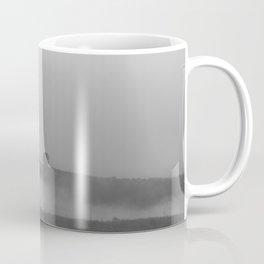 Black and white foggy landscape Coffee Mug