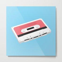 It's Just a Cassette Metal Print