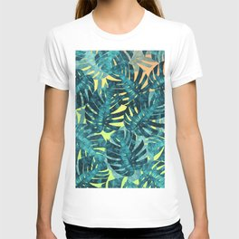 Composition tropical leaves XIV T-shirt