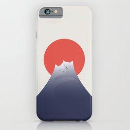 Cat Landscape 98 iPhone Case