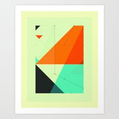 DELINEATION (116) Art Print