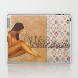 Girl in Field Laptop & iPad Skin