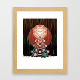 Christmas Tree by ©2018 Balbusso Twins Framed Art Print