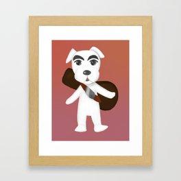 K.K. Slider Framed Art Print