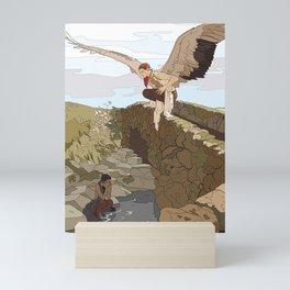 Angel in the Countryside Mini Art Print
