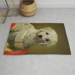 royal toy poodle portrait painting  ,historical  Portrait toy poodle , regal toy poodle portrait painting, Renaissance dog Portrait, Classic toy poodle Portrait ,toy poodle Memorial, toy poodle painting as royal Rug