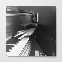 Piano Man by Shane J Cottle Metal Print