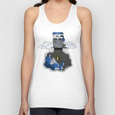 Nightlights and Oven Mitts Unisex Tank Top