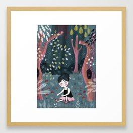 Midnight Ballet Framed Art Print